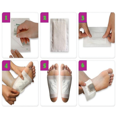 #1 Kinoki Cleansing Detox Foot Pads- 30Pcs
