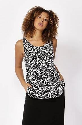Betty Basics Boston Tank - Brush Print