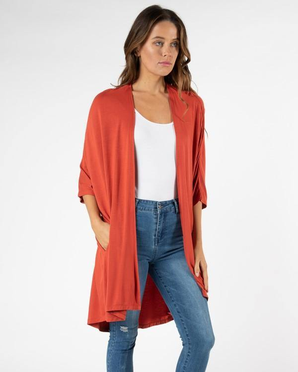 Betty Basics Valencia Cardigan - Sunset
