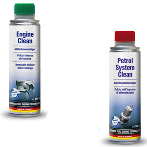 AUTOPROFI Engine Clean + Petrol System Clean Kit Made In Germany TUEV Approved
