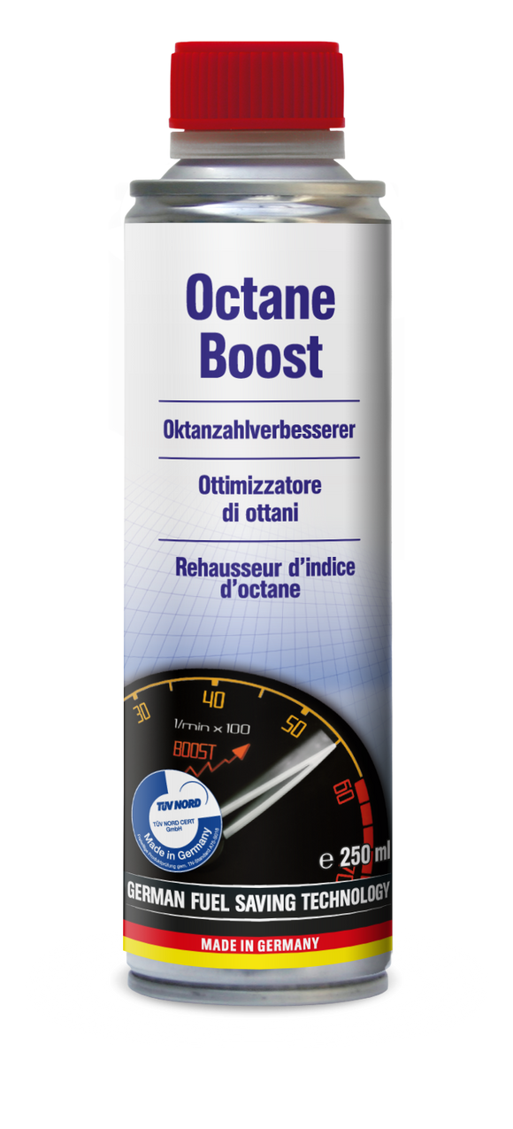 AUTOPROFI Octane Boost 250ml Made in Germany - TUEV approved