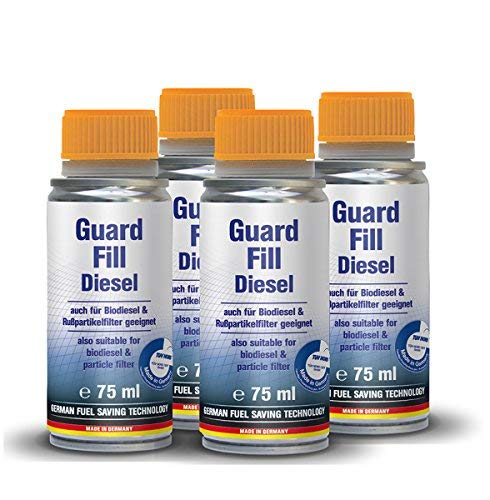 AUTOPROFI Guard Fill - 4-Pack Diesel Fuel Additive and Treatment Made in Germany
