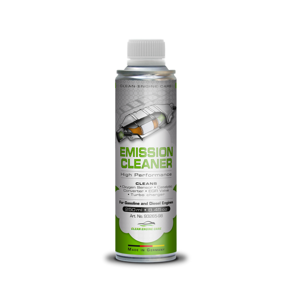 Clean Engine Care Oxygen Sensor Cleaner - Efficient Catalytic Converter Cleaner - High-Performance Vehicle Cleaner for Gasoline and Diesel Engine - 12 Oz Emission Cleaner for Turbo Charger, EGR Valve