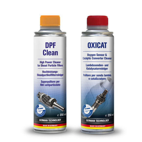 AUTOPROFI DPF Diesel Particular Filter Clean + Oxicat Oxygen Cleaner Made in Germany