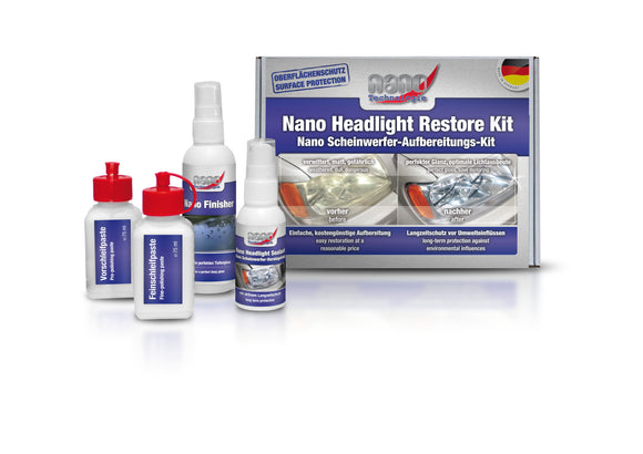 AUTOPROFI Nano Headlight Restore Kit
