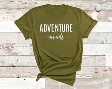 Load image into Gallery viewer, Adventure Awaits Tee