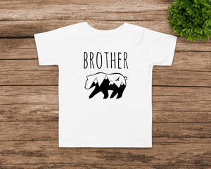 Brother Bear white toddler t-shirt