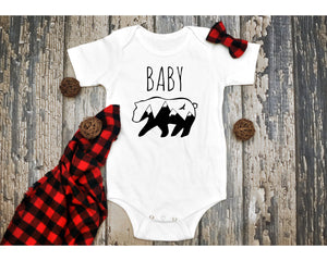 Baby Bear Infant Onesie