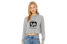 Load image into Gallery viewer, Happy Camper Women's Cropped Hoodie