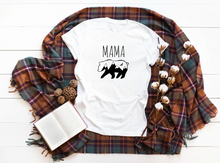 Load image into Gallery viewer, Mama Bear white t-shirt