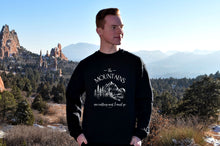 Load image into Gallery viewer, The Mountains are Calling and I Must Go Crewneck Sweatshirt