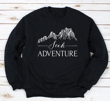 Load image into Gallery viewer, Seek Adventure Crewneck Sweatshirt