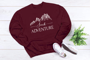 Seek Adventure Crewneck Sweatshirt