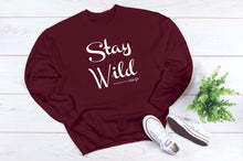 Load image into Gallery viewer, Stay Wild Crewneck Sweatshirt