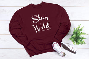 Stay Wild Crewneck Sweatshirt