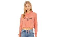 Load image into Gallery viewer, Wanderlust boho sunset cropped hoodie from Modern Trail