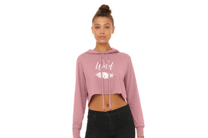 Wild Women's Cropped Hoodie | Wanderlust Collection