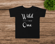 Load image into Gallery viewer, Wild One Toddler Tee