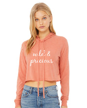Load image into Gallery viewer, Wild & Precious Sunset Cropped Hoodie from Modern Trail