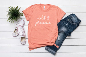 Wild & Precious sunset t-shirt