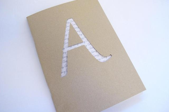 Custom Text Galaxy Sketchbook with Optional Foil Finish