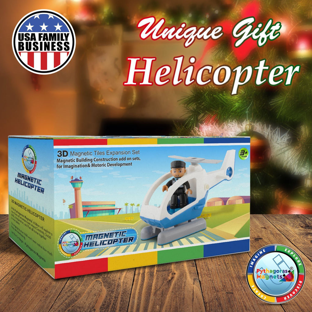 Magnetic Helicopter Edition - Pythagoras-Magnets