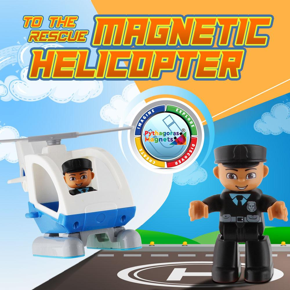 Magnetic Helicopter and Plane Edition. - Pythagoras-Magnets