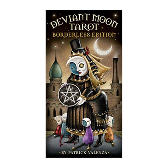 Deviant Moon Tarot Borderless by Patrick Valenza