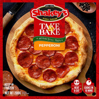 Shakey's Take and Bake Frozen Pizza 190g - Pepperoni