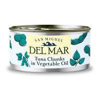 San Miguel Del Mar Tuna Chunks in Vegetable Oil 185g