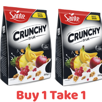 Sante Whole Grain Crunchy Fruit 350G X 2 (BUY ONE TAKE ONE)