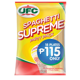 UFC Spaghetti Supreme Party Pack (1kg Pasta + Sauce)