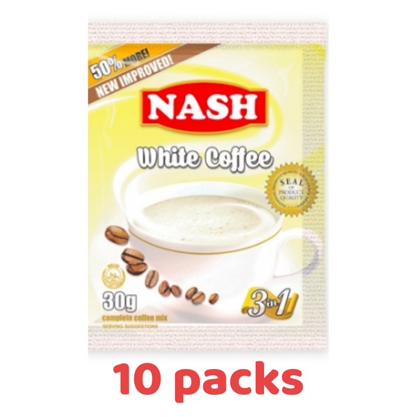 Nash Instant Coffee - 10 Packs (Save 30%)