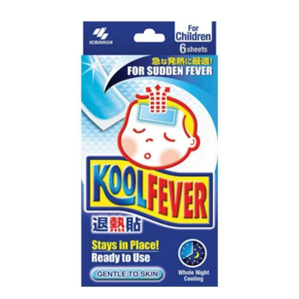 KoolFever Gelsheets Kids 6-pack