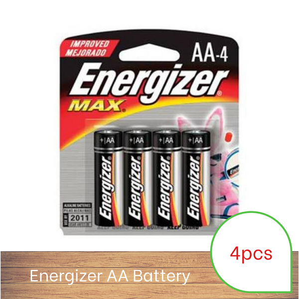 Energizer Battery AA (4 pack)