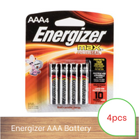 Energizer Battery AAA (4 pack)