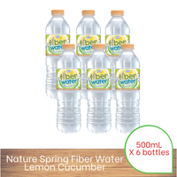 Nature Spring Fiber Flavoured Water 500ML X 6