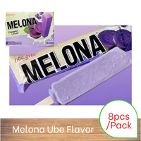 Melona Ice Cream Bar - Ube (8 Pack)