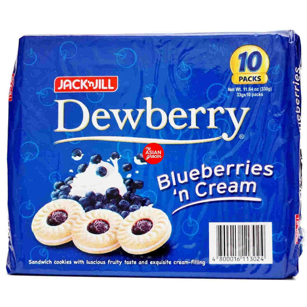 Dewberry Bluberries and Cream (10 pack)