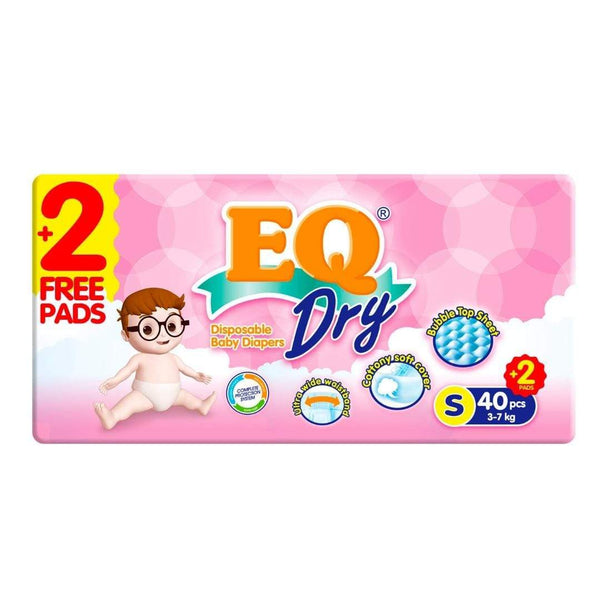 EQ Dry Diapers Econopack Small
