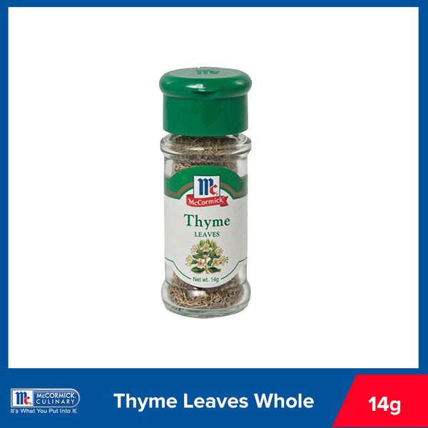 McCormick Thyme Leaves Whole 14g
