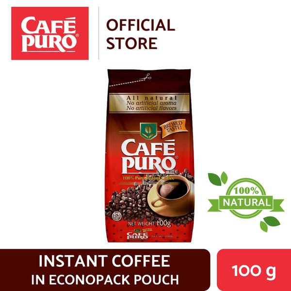 Cafe Puro Econopack Pouch 100g