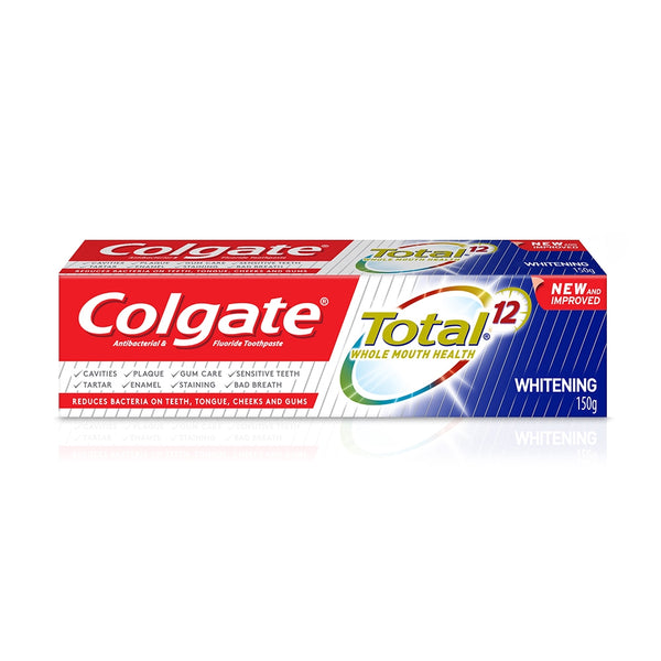 Colgate Total 12 Professional Whitening 140g