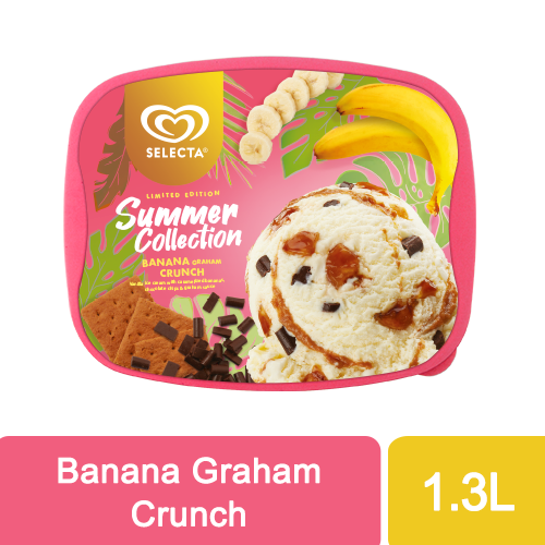 Selecta Banana Graham Crunch 1.4L