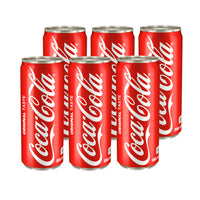 Coke 330ml Can (Pack of 6)