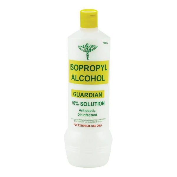 Guardian Isoprophyl Alcohol 70% Solution 500ml with moisturiser