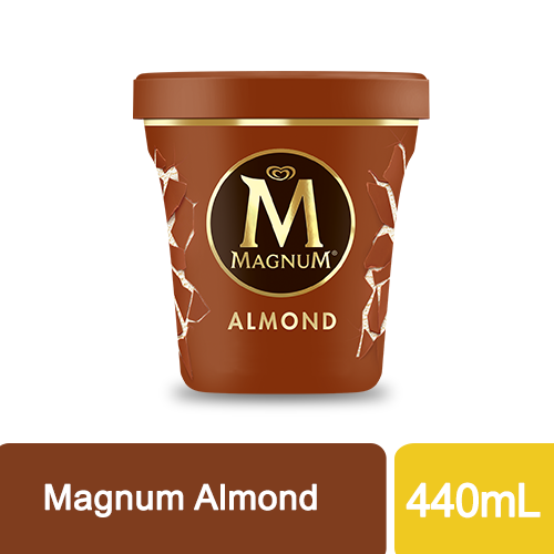 Selecta Magnum Pint Almond Ice Cream 440mL