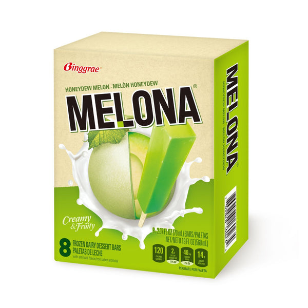 Melona Ice Cream Bar - Melon (8 pack)