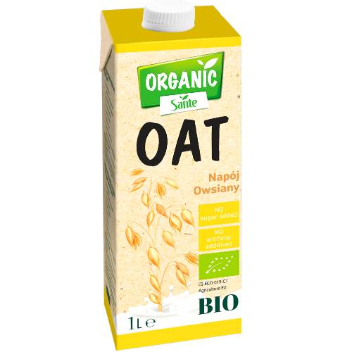 Sante ORGANIC Oat Drink with No Added Sugar (Lactose Free)
