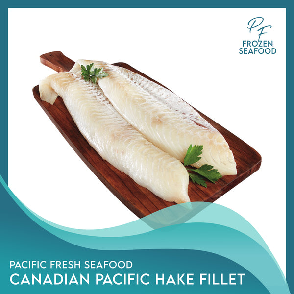 Pacific Fresh Canadian Pacific Hake Fillet 1Kg